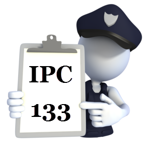 Indian Penal Code IPC-133