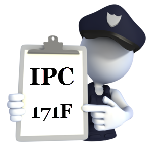 IPC 171F