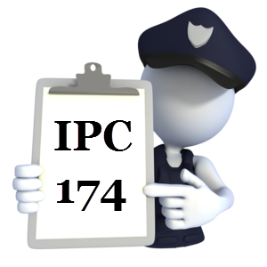 Indian Penal Code IPC-174