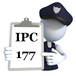 Indian Penal Code IPC-177
