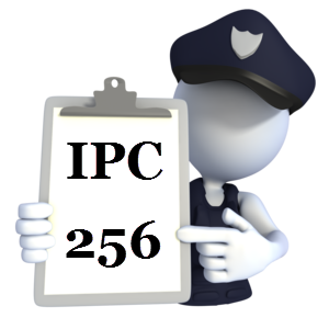 Indian Penal Code IPC-256