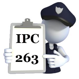 Indian Penal Code IPC-263