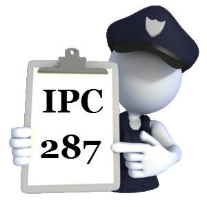 IPC 287