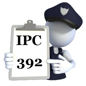 Indian Penal Code IPC-392