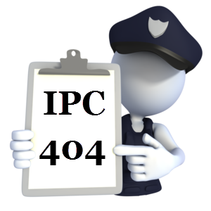Indian Penal Code IPC-404