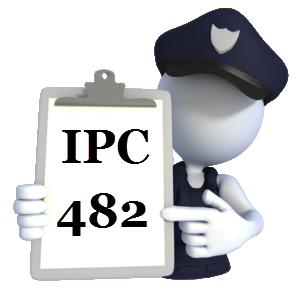 Indian penal Code IPC-482